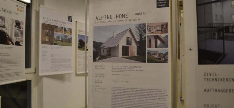 S projektom Hiša v alpski vasi se je Meta Kutin uvrstila na mednarodno razstavo Inženirke oblikujejo prihodnost