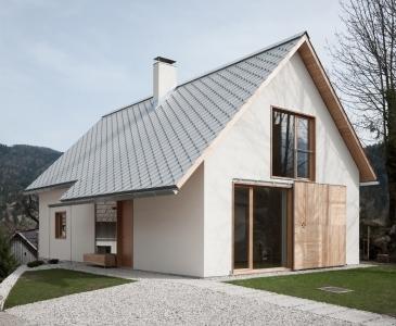 Hiša v Alpski vasi